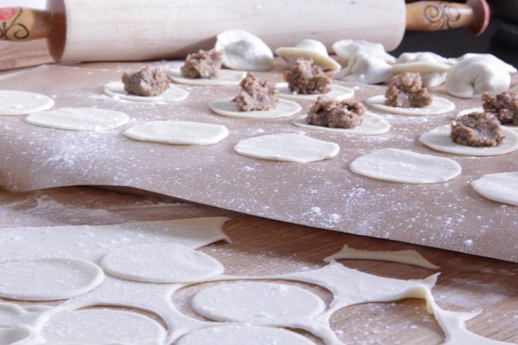 Pelmeni formen