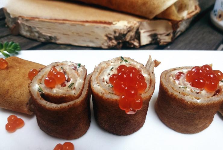 Vegane Buchweizenpfannkuchen