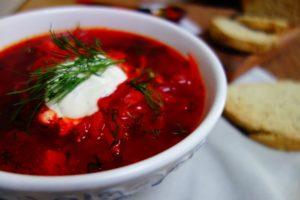 Borschtsch Suppe Rezept