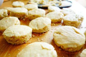 Kuchenkreise ausstechen - Joschiki