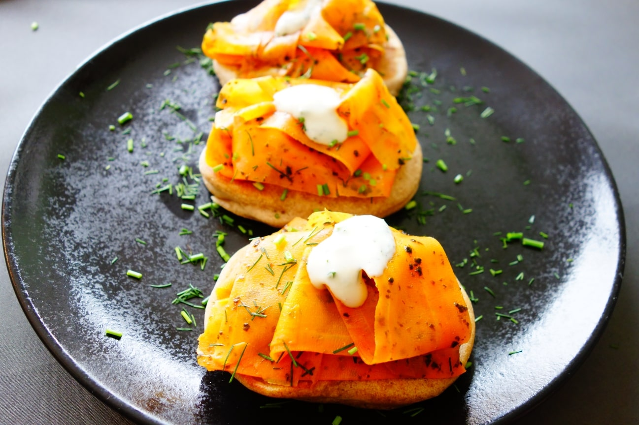 Karottenlachs vegan