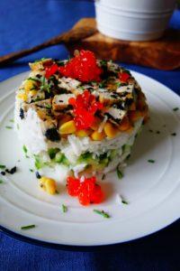 Veganer Krabbensalat mit Nori